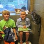 Book Buddies / Animal Rescue League of Berks County | #socialreading #socialearning