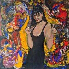 Artwork >> Jürgen Grafe >> VERONA COLORFUL WORLD  #artworks, #masterpiece, #oiloncanvas, #bright, #colorful, #world, #verona