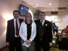 My cousins, Mark, Linda and Darrell.
