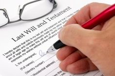 Last Will and Testament  If you are a parent, you need to have one.  No excuses.