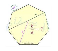 Heptagon & Ratio #mathematics #satexam #actexam #mathteacher #teachmath #study #riddle #thinking #learning #yks #test #gercekboss #eylemmath #gercekboz #highschool #geometry #calculus #algebra #stem #reasoning #math #competition #amc #aime #olympiad