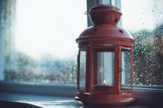 Lamp Candle Window HD Wallpaper