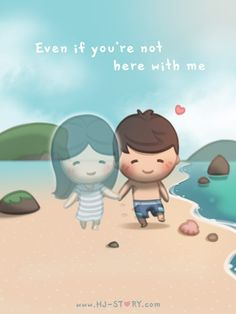 HJ-Story :: Love is. Hj Story, Cute Love Stories, Love Story, What Is Love, I Love You, You Are My Moon, Cute Love Cartoons, Love Me Quotes, Love Couple