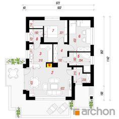 Dom w lilakach Floor Plans, House, Modern Home Plans, Trendy Tree, Projects, Home, Homes, Floor Plan Drawing, Houses