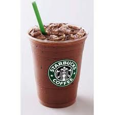 Starbucks Hidden Menu: samoa frappachino; thin mint frappachino