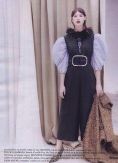 December 2016 - Marie Claire - Tina collar