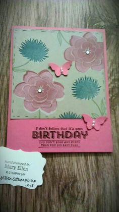 Simple Stems, a brand new stamp set from Stampin' Up!