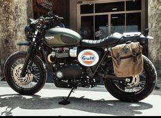 I thoroughly love those things these folks did to this distinctive Blitz Motorcycles, Triumph Street Scrambler, Triumph Street Twin, Triumph Cafe Racer, Triumph Scrambler, Cafe Racer Bikes, Triumph Motorcycles, Triumph T120, Triumph Bonneville