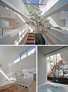Japanese Machi House: living high in the treetops