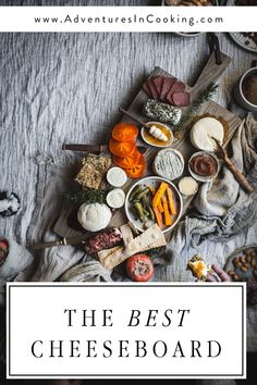 Here are all of my tips and tricks for making a delicious and beautiful cheeseboard, from what flavor pairings to include and what to serve it with. Vegan Gluten Free, Vegan Vegetarian, Paleo, Ham And Cheese Croissant, Antipasto Platter, Cheese Platters, Food Photography, Roast, Food And Drink