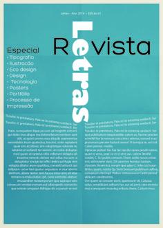 LAYOUT CAPA DE REVISTA