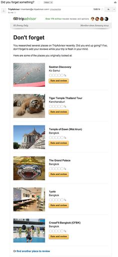 How TripAdvisor Nails Customer Relationship Management Email Marketing Strategy, Content Marketing, Social Media Marketing, Digital Marketing, Customer Relationship Management, Growth Hacking, Trip Advisor, Ads, How To Plan