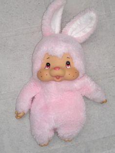 Mončičák ružový (aj bieleho som mala) Retro Toys, Vintage Toys, Plush Dolls, Doll Toys, Dolls Prams, Good Ol, My Childhood, Memories, Christmas Ornaments