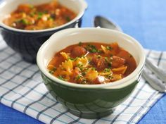 Busenkel och god soppa med kabanoss!