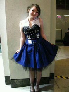TARDIS dress