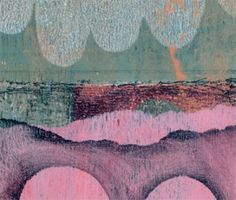 Carla Sonheim - I recently discovered a new product, Gelli Plate by Gelli Arts, and suddenly I'm a working printmaker again!