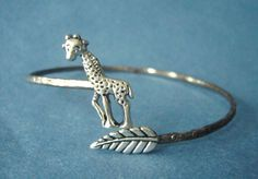 Hey, I found this really awesome Etsy listing at https://www.etsy.com/listing/117720998/giraffe-cuff-bracelet-with-a-leaf-wrap