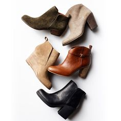 We can tell your future, as in, we know you're going to be wearing these booties with everything this fall.