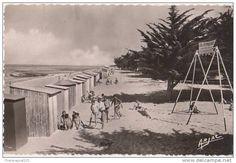 Oléron - Plage de St Denis en 1955