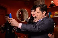 """Lena Hall winner of @The Tony Awards for Best Performance by an Actress in a Featured Role in a Musical for """"Hedwig and the Angry Inch"""", in the Paramount Hotel Winners' Room at the 68th Annual Tony Awards on June 8, 2014 in New York City. (Photo by Mike Coppola/Getty Images for Tony Awards Productions) #TonyAwards"""