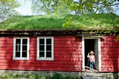 A CUP OF JO: 10 Surprising Things About Parenting in Norway #grassroof, #sodroof