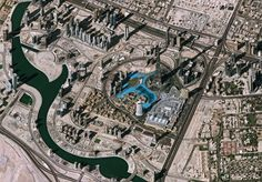 dubai, as seen from space