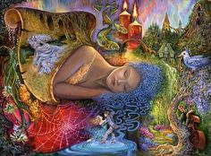 Dreaming in Colour by Josephine Wall