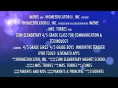 Zuni Elementary Magnet School using iPod Touch and iLiveMath - Trailer #1