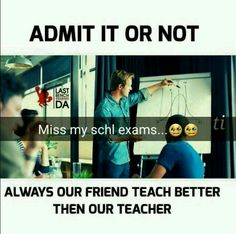 Offcoures no doubt .physics by gk, math by pari, other sub by Geetu and kittu Latest Funny Jokes, Some Funny Jokes, Crazy Funny Memes, Really Funny Memes, Funny Facts, Funny Relatable Memes, Hilarious, Best Friend Quotes Funny, Cute Funny Quotes