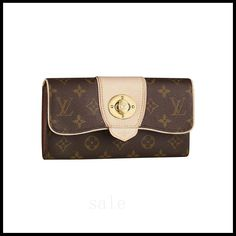 Luxury And Fashionable Louis Vuitton Boetie Brown Wallets M63220 Gets More Praise From Customers!