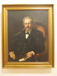 Felipe Santiago Gutierrez Texcoco-Mexico 1824-1904  Jose Manuel Groot 1874 Oleo sobre tela.