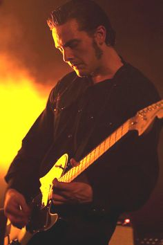 Peter Hayes (born February 11, 1976 in New York Mills, Minnesota), and is an American indie rock guitarist and singer. He is best known as a member of California alternative rock trio, Black Rebel Motorcycle Club.