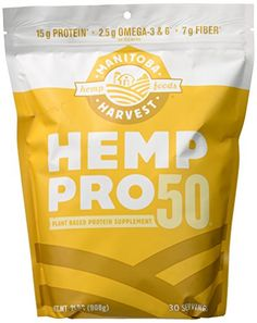 Manitoba Harvest Hemp Pro 50 Protein Supplement 32 Ounce *** For more information, visit image link.