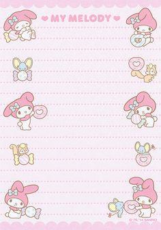 Sanrio My Melody Memo (2014) | crazysugarbunny | Flickr
