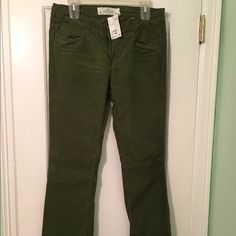 Corduroy Green corduroys never been wore H&M Jeans Boot Cut