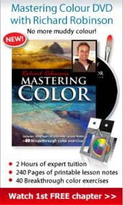 Mastering Colour in Oil painting DVDs