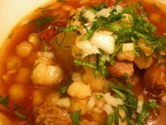 Greg's World on a Plate: Posole Soup