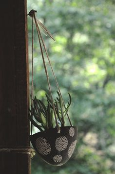Mum Blossom Design Black and White Carved by HalfLightHoneyStudio, $36.00
