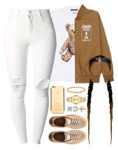 """03 December, 2016"" by jamilah-rochon ❤ liked on Polyvore featuring Joyrich, Anne Klein, Movado, Puma and (+) PEOPLE"