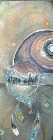 David Hale, 'looking glass', 2007. (whoa really, world grotto! knoxville tn! what did I miss?!)