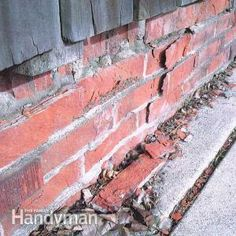 How to Replace Spalling Bricks | The Family Handyman