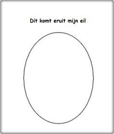 * Laat kinderen tekenen wat zij graag uit een ei zouden zien willen komen! Dit zou bijvoorbeeld ook een dinosaurus kunnen zijn... of een ander raar monster. De kinderen mogen dit zelf bepalen! De resultaten zijn erg grappig!
