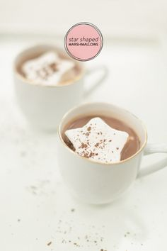 #Homemade Star Shaped Marshmallows! See the recipe on #SMPLiving: http://www.stylemepretty.com/living/2013/12/11/homemade-star-marshmallows/ Ruth Eileen Photography