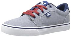 DC Womens Anvil TX SE Skate ShoeBlueWhiteBlue10 B US ** To view further for this item, visit the image link.(This is an Amazon affiliate link and I receive a commission for the sales)