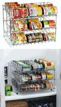 20 ideas para ahorrar espacio en la cocina de forma creativa. #decoración #espacio #cocina #creatividad