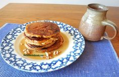 This recipe for Buttermilk Sweet Tater Pancakes is my favorite pancake recipe. If you like sweet potatoes, you will love these. #buttermilkpancakesrecipesweets