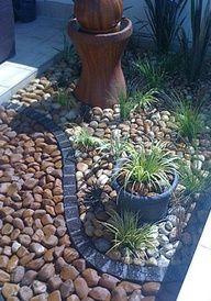 rock landscaping