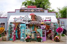 colorful, whimsical, fun! Texas--Royers RoundTop Cafe