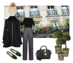 """""""Madeleine"""" by rolitacooper on Polyvore featuring moda, Smythson, N°21, Tod's, TIBI, Annabelle New York, Home Decorators Collection, Moncler Gamme Rouge y Karen Walker"""