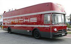 Vintage Porsche Transporter